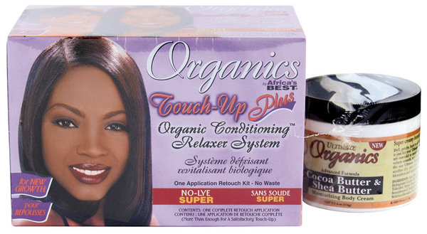 Organics by Africa's Best - Touch-Up Plus - Organic Conditioning Relaxer System