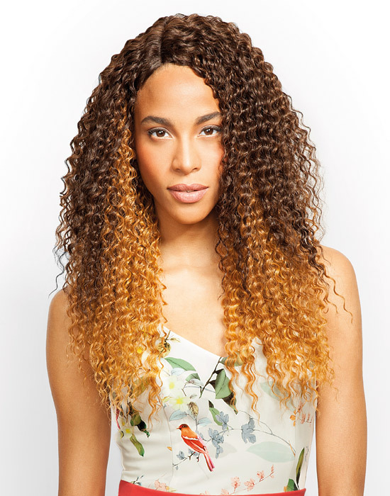 Feme Collection - Premium Blended - Kinky Curl - One Pack Solution Human Hair