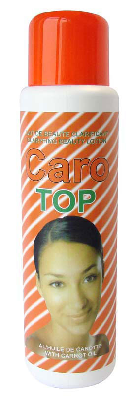 Caro Top Beauty Lotion With Carrot Oil 500ml