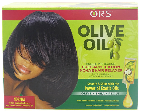 ORS - Organic Root Stimulator - Olive Oil Built-In Protection - No-Lye Hair Relaxer - Normal