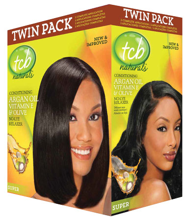 TCB Naturals - Conditioning Argan Oil Vitamin E & Olive - No-Lye Relaxer