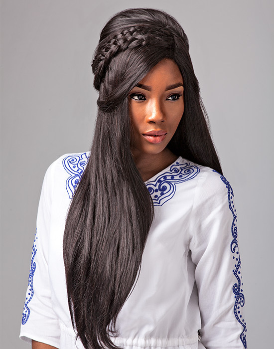 Sensationnel Bare & Natural - 100% Malaysian Virgin Remi Bundle - Natural Straight - 100% Human Hair