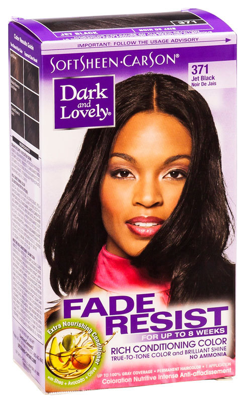 Dark & Lovely - Fade Resist - Rich Conditioning Color - Jet Black 371