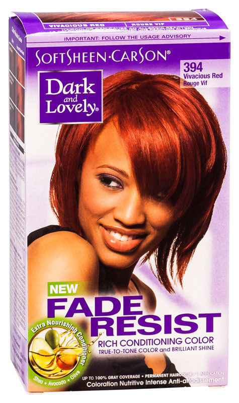 Dark & Lovely - Fade Resist - Rich Conditioning Color - Vivacious Red 394