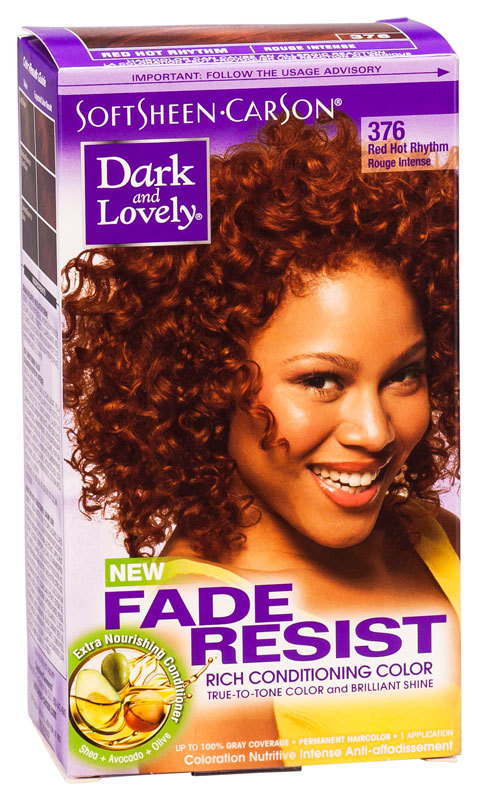 Dark & Lovely - Fade Resist - Rich Conditioning Color - Red Hot Rhythm 376