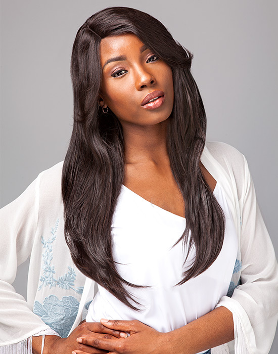 Perücke - Sensationnel - Brazilian Bare & Natural Wig - 100% Human Hair - Natural Straight