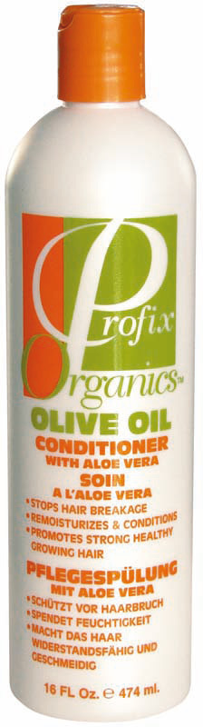 Profix Organics - Olive Oil Conditioner with Aloe Vera - 474ml / 16 Oz.