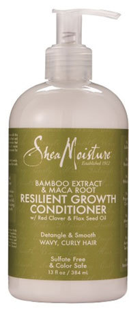 Shea Moisture - Bamboo Extract & Maca Root - Resilient Growth Conditioner - 384ml