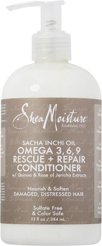 Shea Moisture - Sacha Inchi Oil Omega 3,6,9 Rescue + Repair Conditioner - 384ml