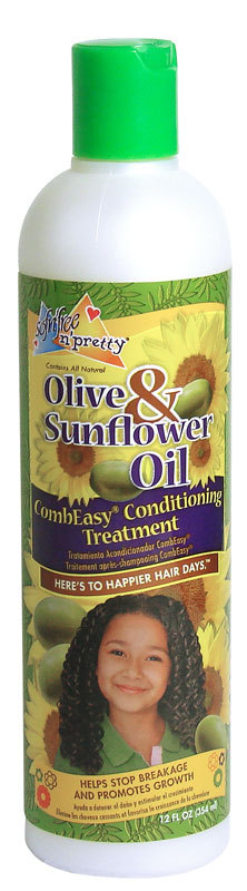 Sofn'free Pretty - Olive & Sunflower Oil - Combi Easy Conditioning Treatment - 354ml