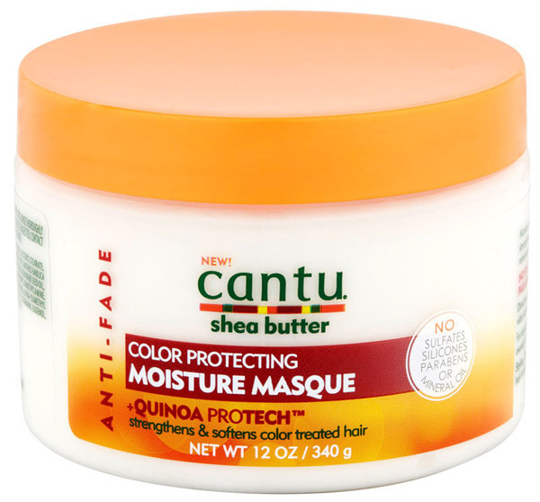 Cantu Shea Butter - Anti-Fade - Color Protecting Moisture Masque - Net Wt. 12oz. / 340g