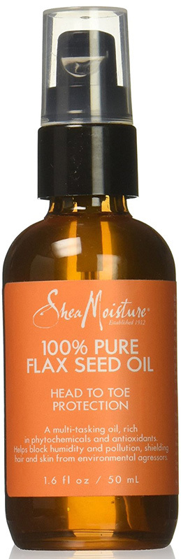 Shea Moisture - 100% Pure Flax Seed Oil - Head to Toe Protection - 50ml