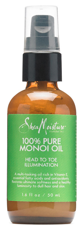 Shea Moisture - 100% Pure Monoi Oil - Head to Toe Illumination - 50ml