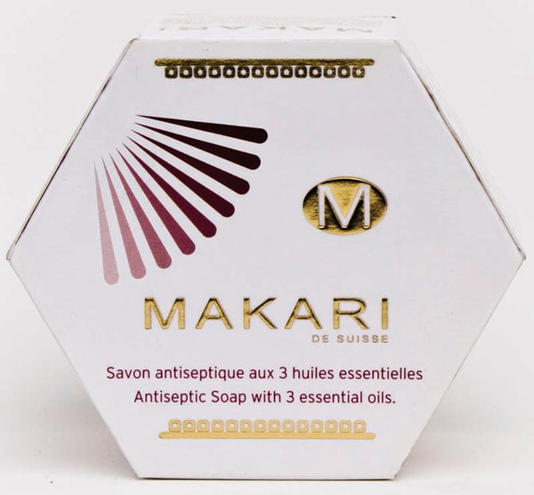 Makari - Antiseptic Soap with 3 essential oils - 200g