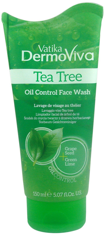 Vatika Dermoviva Face Wash Tea Tree 150ml