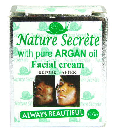 Nature Secrete With Pure Argan Oil - Facial Cream - Inhalt: 40g