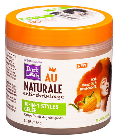 Dark & Lovely - Au Naturale Anti-Shrinkage - Coil Moisturizing Souffle - Inhalt: 152g