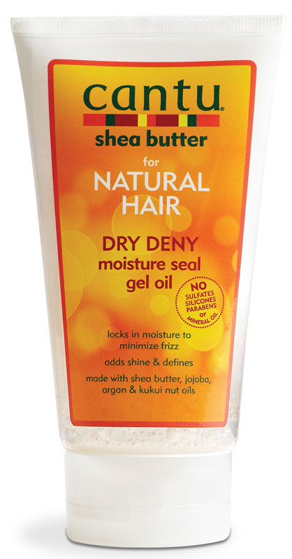 Cantu Shea Butter for Natural Hair Dry Deny Moisture Seal Gel Oil 142g