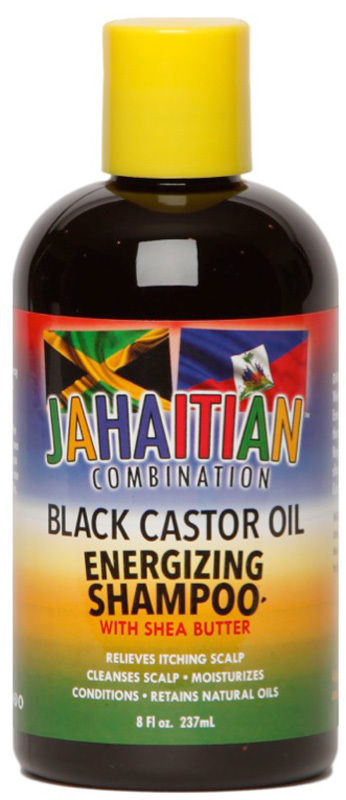Jahaitian Combination Black Castor Oil Energizing Shampoo 237ml