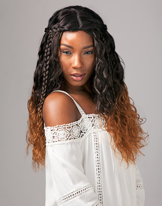 Sensationnel - Bare & Natural Virgin Remi Bundles - Brazilian Natural Wavy - 100% Human Hair