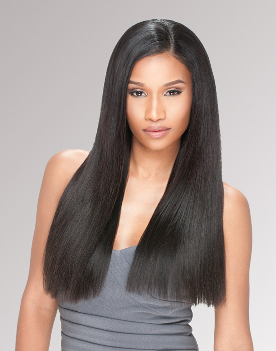 Sensationnel - Bare & Natural Virgin Remi Bundles - Brazilian Natural Yaki - 100% Human Hair