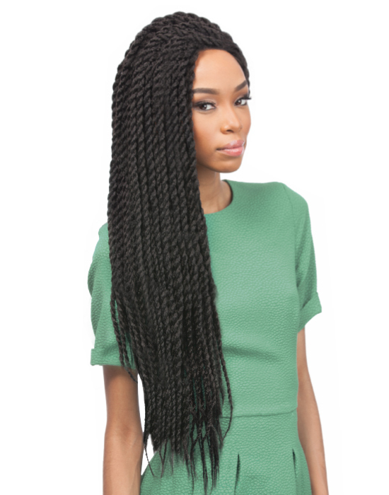 "X-Pression Collection - Crochet Braid - Senegalese Twist Large 24"" - Farbe: 30"