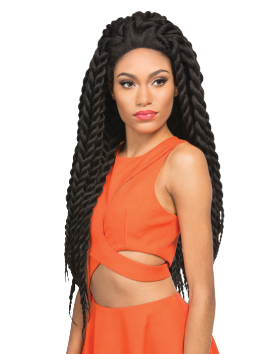 X-Pression Collection - Crochet Braid - Senegalese Twist X-Large 24""