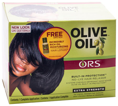 ORS - Organic Root Stimulator - Olive Oil Built-In Protection - No-Lye Hair Relaxer - Extra Strength