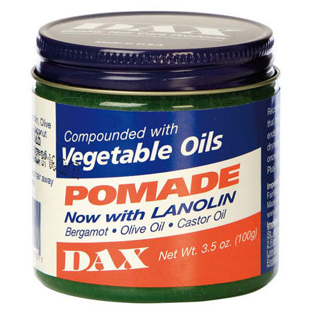 DAX - Vegetable Oils - POMADE Now with LANOLIN - Inhalt: 100g