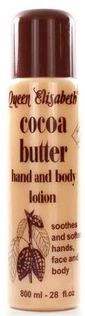 Queen Elisabeth - Cocoa Butter - Hand and Body Lotion - Inhalt: 800ml