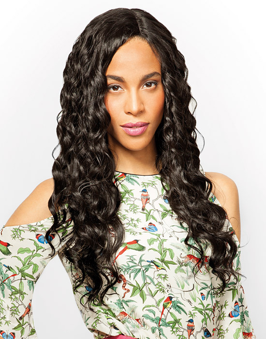 Feme Collection - Premium Blended - Natural Curl - One Pack Solution Human Hair