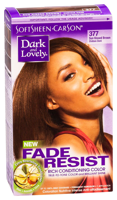 Dark & Lovely - Fade Resist - Rich Conditioning Color - Sun Kissed Brown 377