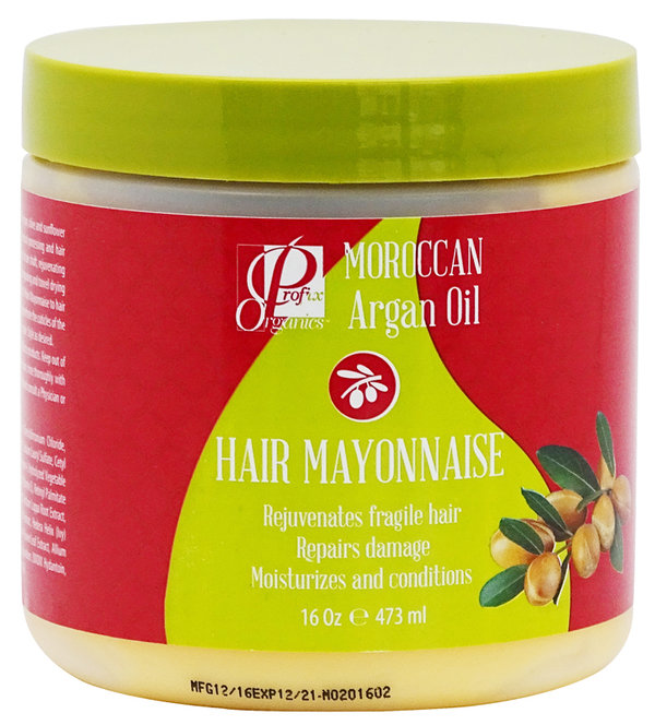 Moroccan Argan Oil - Hair Mayonnaise - 473ml / 16 Oz.